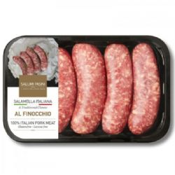 Italian Sausages with Fennel 500g | Imported from Italy | Buy Online | Food | Ingredients | UK